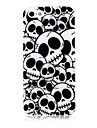 Cross Bones Pattern Silicone Soft Case for iPhone5/5S