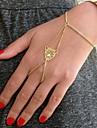 Shixin® Fashion Leopard Head Pattern Golden Alloy Charm Bracelet(1 Pc)
