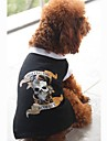 Personality Skull T-Shirt for Pets Dogs (Assorted Colors, Sizes)