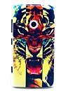 Irritada Padrão Tiger Hard Case para Nokia Lumia N520