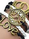shixin® marina pulsera del abrigo de cuero multicolor 18cm Europeo de Mujeres (1 PC)