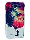 Man and Space Star Pattern Plastic Protective Back Cover for Samsung Galaxy S4 I9500