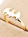 shixin® 유럽 박쥐 여성의 금 합금 밴드 반지 (금) (1 개)