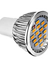 6W GU10 LED Spotlight 15 SMD 5730 380 lm Warm White Dimmable AC 220-240 V