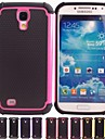 Two-in-One Football Grain Projeto PC e capa de silicone para Samsung Galaxy S4 i9500 (cores sortidas)