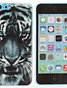 Hard Case PC Tiger Pattern pour iPhone 5C