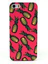 Beautiful Pineapple Pattern Hard Case for iPhone 5/5S