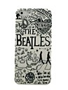 The Beatles Pattern Hard Case for iPhone4/4S