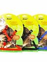 Cat Leash Adjustable/Retractable Red / Black / Blue Nylon