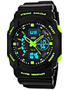 skmei®子供用の腕時計のスポーツデュアルタイムゾーンは耐水性を多