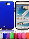 For Samsung Galaxy Note Shockproof / Frosted Case Back Cover Case Solid Color PC Samsung Note 2