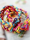 Контраст цветов ручной ленты для волос Elastic широкая версия Твист Braid Rope (цвет случайный)