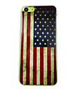 Bandeira Retro America Pattern Caso Voltar para o iPhone PC 5C