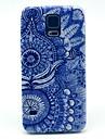 Para Samsung Galaxy Capinhas Estampada Capinha Capa Traseira Capinha Mandala PC Samsung S5