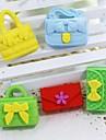 милый съемный сумочку и кошелек форме ластик (случайный цвет х 5 шт)