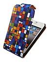 vierkante matching up-down omdraaien full body case voor de iPhone 4/4s
