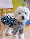 Pet Summer Tartan  Dress for Pets Dogs (Assorted Colors,Sizes)