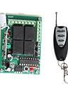 12 4-канальный беспроводной пульт дистанционного Power релейный модуль с пультом ДУ (DC 14V)