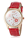 Women's Watch Flower Pattern Gold Case Cool Watches Unique Watches Fashion Watch