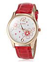 Women\'s Watch Flower Pattern Gold Case