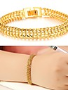 Femme Manchettes Bracelets Plaque or 18K or Original Mode Bijoux Or Bijoux 1pc