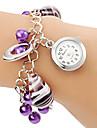 Women's Vase Pendant Alloy Band Quartz Bracelet Watch Cool Watches Unique Watches