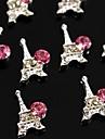 10PCS 새로운 에펠 탑 DIY 모조 다이아몬드 액세서리 네일 아트 장식