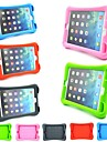Soft Silicone Protective Case with Stand for iPad Mini 1/2/3(Assorted Colors)