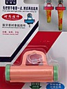 pressão suspensão pasta de dentes de plástico (cor aleatória)