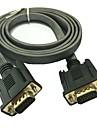 1,5 5 футов 15-контактный SVGA VGA монитор м / м между мужчинами кабель, шнур для ПК TV бесплатной доставкой
