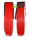 Hot Selling  Peny Tail Hair   Clips  Colour  Colorful  Red   Bar  Wholesale  Hair Extension  Hair Pieces