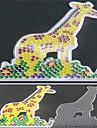 1шт шаблон ясно предохранителей бусины Pegboard жираф шаблон для 5мм Hama бисер DIY головоломки