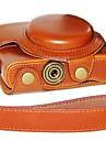 dengpin® camera cuir peau d\'huile de boite avec bandouliere pour sony dcs-RX100 ii m2 m3 RX100 iii RX100