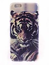 Tiger Design caso duro para el iPhone 6 Plus