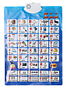 Baby\'s Learning Chart in Russian with Sounds Educational Toy