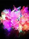 20-conduit 4m decoration de noel fleurs colorees impermeables lumiere RGB LED lumiere de chaine (220v)