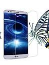 [3-pack] professionnel de haute transparence cristal LCD protecteur d\'ecran avec un chiffon de nettoyage pour LG G2