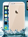 Для Кейс для iPhone 6 / Кейс для iPhone 6 Plus Ультратонкий / Прозрачный Кейс для Задняя крышка Кейс для Один цвет Мягкий СиликонiPhone