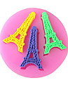Paris Tower Baking Fondant Cake Choclate Candy Mold,L7cm*W6.9cm*H0.7cm SM-256