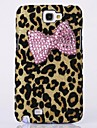 For Samsung Galaxy Note Rhinestone Case Back Cover Case Leopard Print PC Samsung Note 2