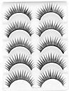 Eyelashes lash Eyelash Natural Long Volumized / Natural / Curly Fiber