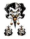 Cool Car Decoration Sticker Decals-Three-Dimensional Printing Evil Clown