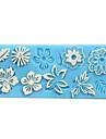 Lace Baking Fondant Cake Choclate Candy Mold,L18cm*W7.8cm*H0.4cm