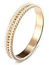 мода горный хрусталь жемчуг мигают золотой сплав браслеты (1 шт)