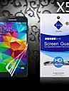 HD экран протектор с пыле-поглотителя для Samsung Galaxy S5 i9600 (5 шт)