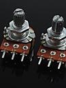 Потенциометр для регулировки громкости b20k 3-контактный для гитары / баса (2 шт)