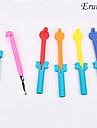 crochet en alliage eruner®rainbow de style métier de couleur (couleur de randow)