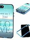 Love The Sea Pattern Back Case Cover for  iPhone5/5S