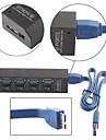 SuperSpeed 4-портовый USB 3.0 концентратор с отдельными выключателями питания и светодиодные индикаторы для Macbook Air