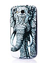 elefant mønster tynde hårde tilfælde dække for Samsung Galaxy S3 i9300